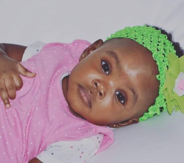 Jude Okoye shares adorable photo of his 5-month-old daughter