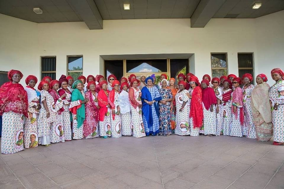 2019: Aisha Buhari meets APC women leaders(photos)