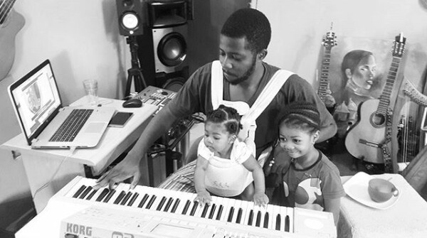 Photos: Singer Jeremiah Gyang and wife welcome third daughter