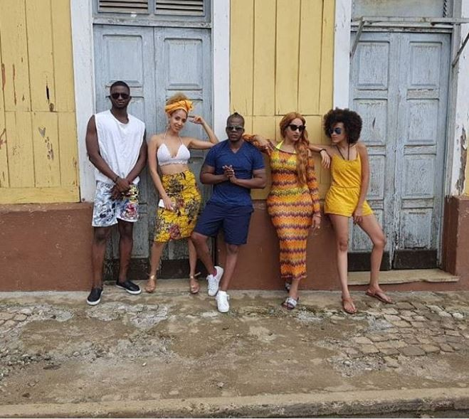 Iceberg Slim and Juliet Ibrahim baecation in S?o Tom? island for her birthday (Photos)