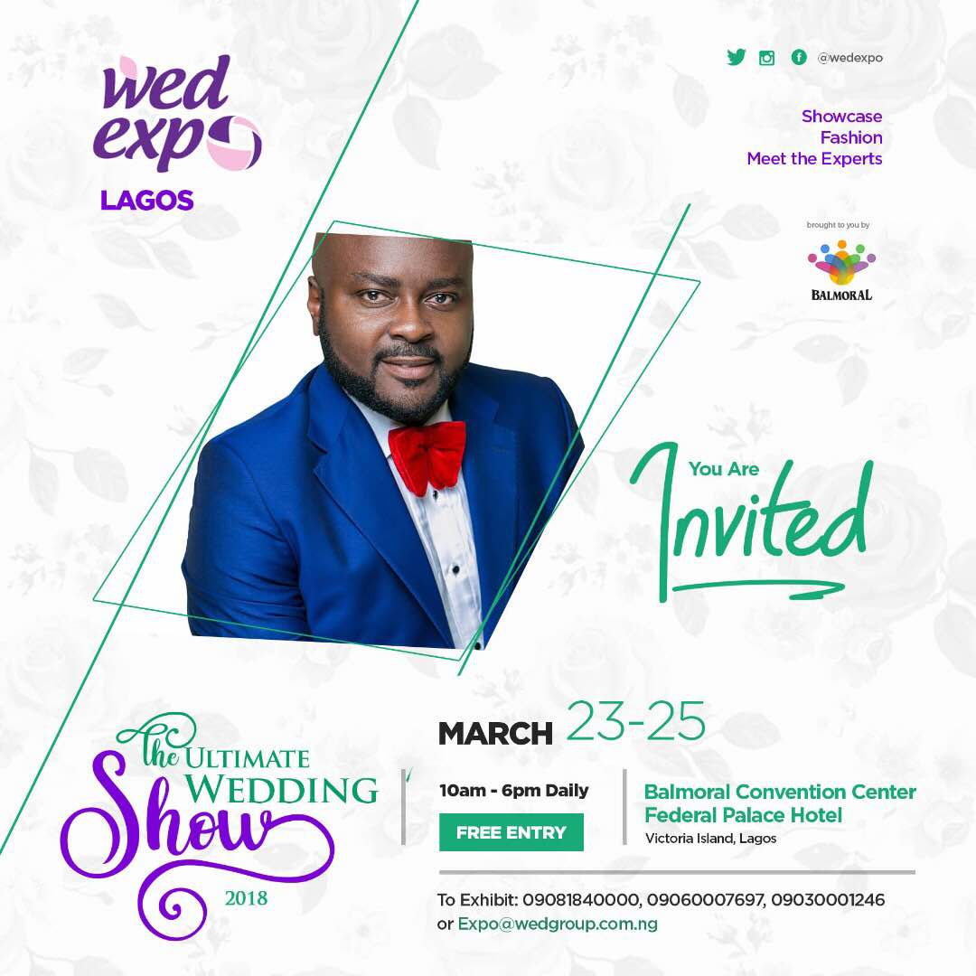 Countdown to the Ultimate Wedding Show Lagos by WED Expo ? March 23rd to 25th