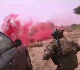 Leaked video shows moment the US Special forces was ambushed and killed by ISIS in Niger (distressing video)