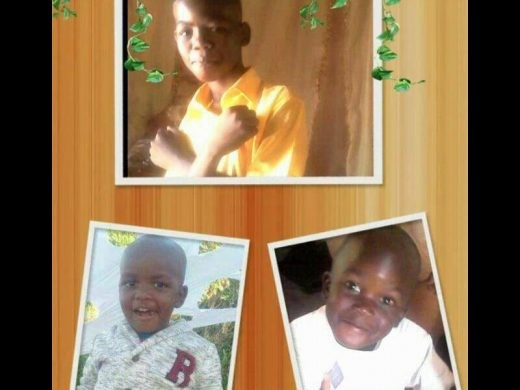 Photos: Three children burnt to death by their mother?s boyfriend laid to rest in South Africa