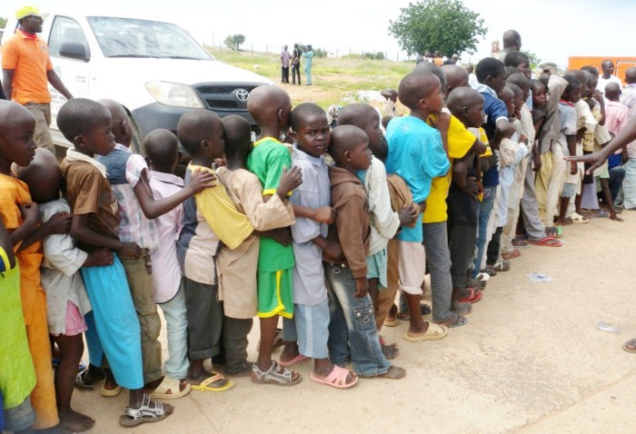 Hundreds Of IDPs protest over Shortage of food in Adamawa