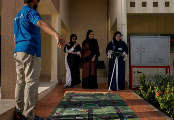 Joy and nerves for Saudi women on their first ever driving lessons before ban is lifted