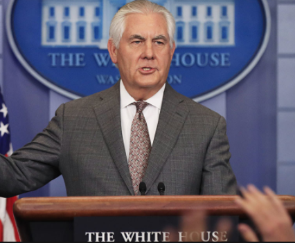 U.S. Secretary of State, Rex Tillerson announces $533m humanitarian assistance for Nigeria, others