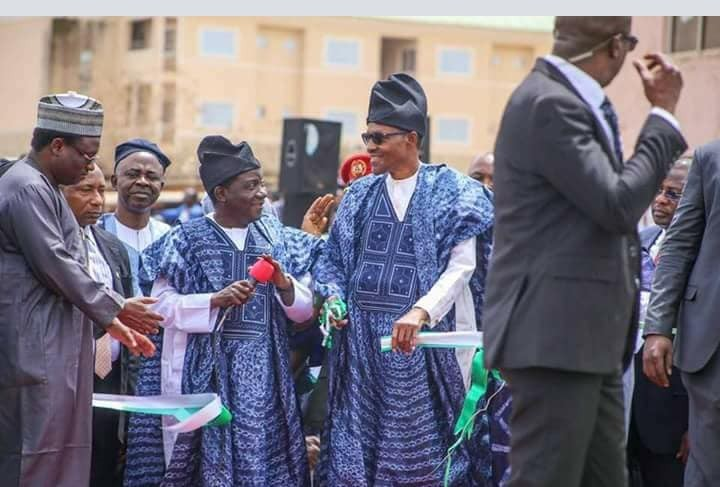 Photos of President Buhari in Plateau state