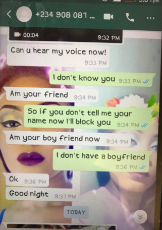 Lol! Nigerian dad pretends to be another person just to find out if his daughter has a boyfriend