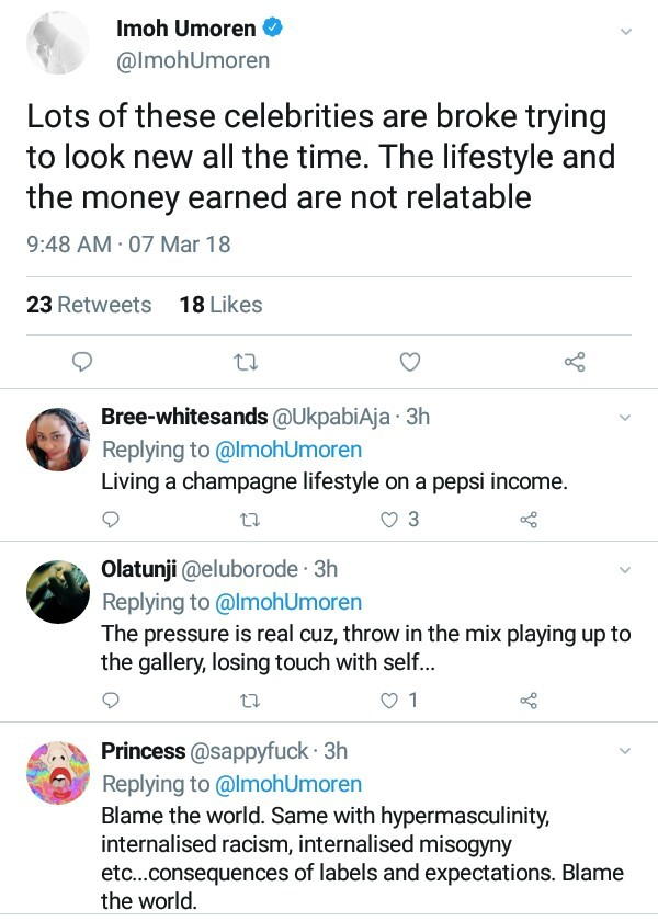 """Their lifestyle and the money earned are not relatable"" - Nigerian filmmaker says most celebrities are broke"