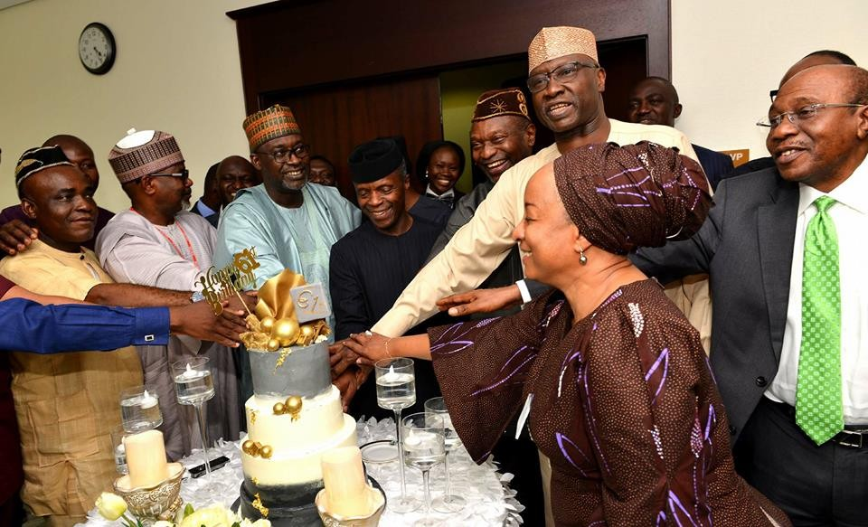Photos from Vice President Yemi Osinbajo