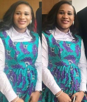 Looks like Sunmbo Ajaba-Adeoye is expecting her first child with her pastor husband (photos)