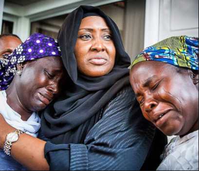 I share in the agony, sorrow of parents of abducted girls - Aisha Buhari