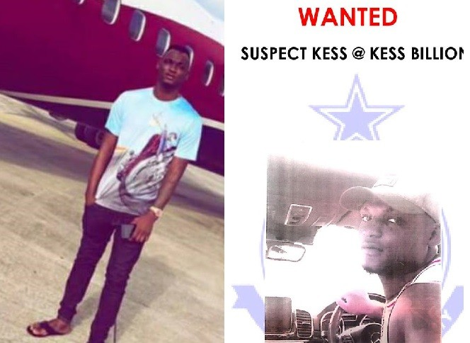 Nigerian national declared wanted for series of robbery attacks in Ghana (Photos)