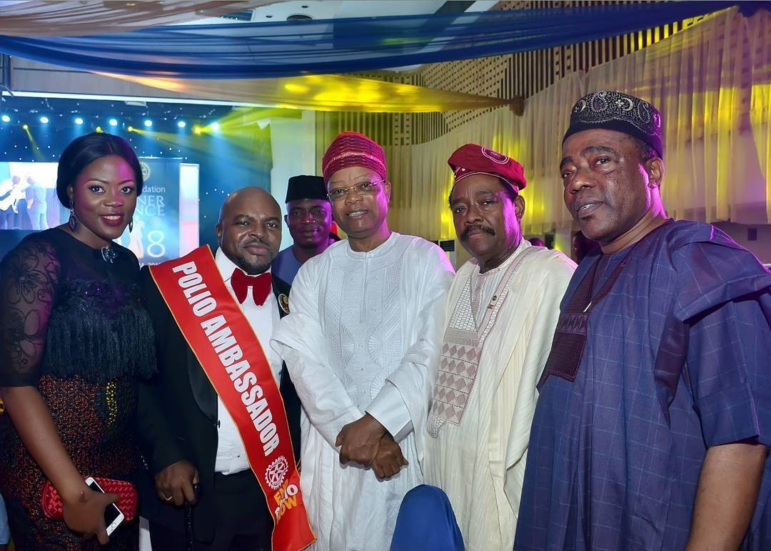 Popular band leader, Akin Shuga becomes National Ambassador for Rotary Club