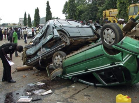 Multiple car crash kills 10 people in Abuja