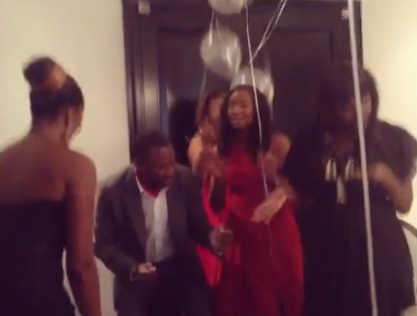 Femi Otedola, his wife and daughters show off their billionaire dance steps in trending video