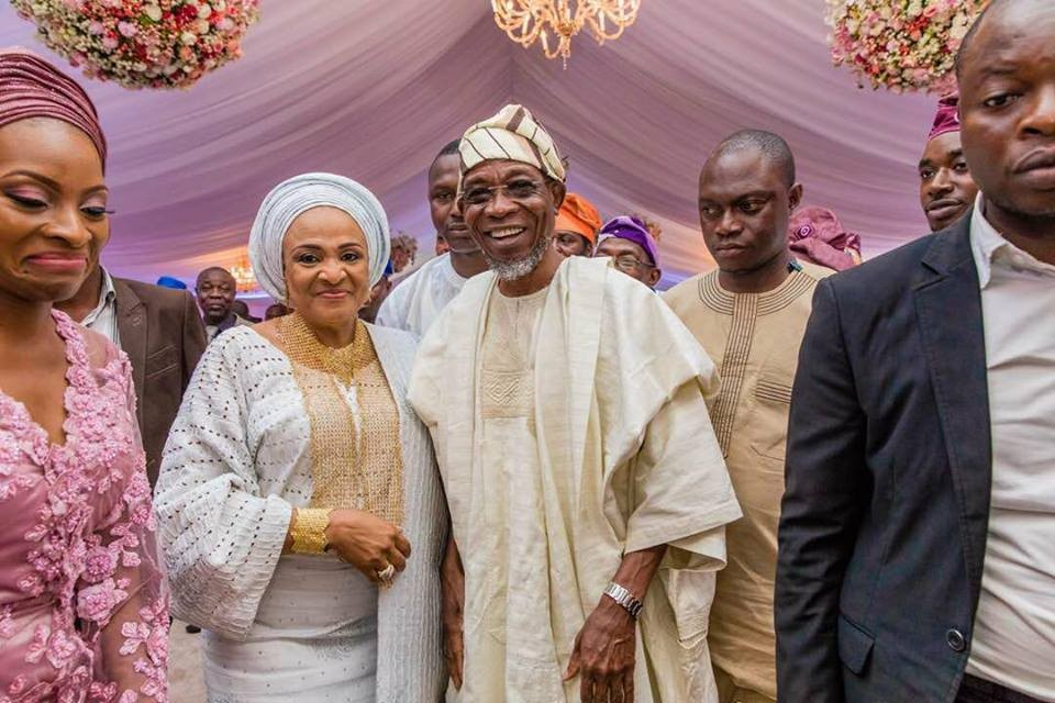 Photos: Osinbajo, Aisha Buhari, Tinubu, Nnamani, others attend the wedding of Kano state governor