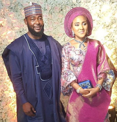 Image result for Photos Of Dangote's Daughter, Fatima At Her Nikkai Ceremony In Kano
