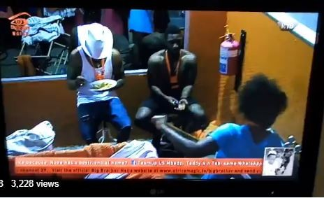 BBN housemate Tobi accuses Cee-C of grabbing his p!nis under the duvet & she denies it (Videos)