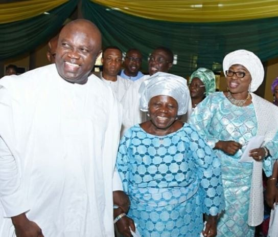 #MothersDay: Governor Ambode celebrates his wife and mum with sweet words