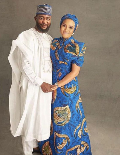 Beautiful pre-wedding photos of billioanire dughter, Fatima Dangote and her fiance, Jamil Abubakar