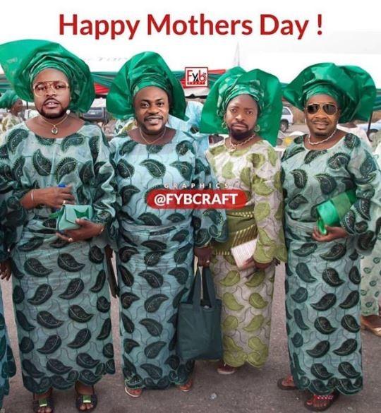 Photo of the day: Don Jazzy, Falz, Basketmouth and Odunlade Adekola