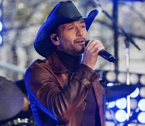 Country singer, Tim McGraw collapses onstage during a performance in Ireland