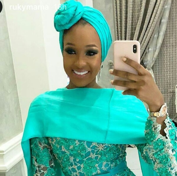 Billionaire daughter, Rukayat Indimi-Dantanta is absolutely stunning in new photos