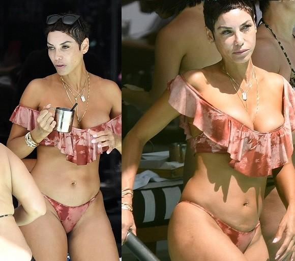 ?Nicole Murphy, 50, flaunts her amazing bikini body in Miami (Photos)