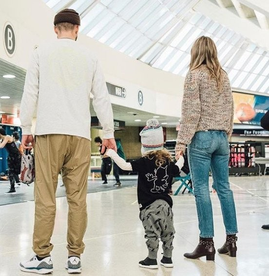 Justin Timberlake posts rare photo with Jessica Biel and son Silas..