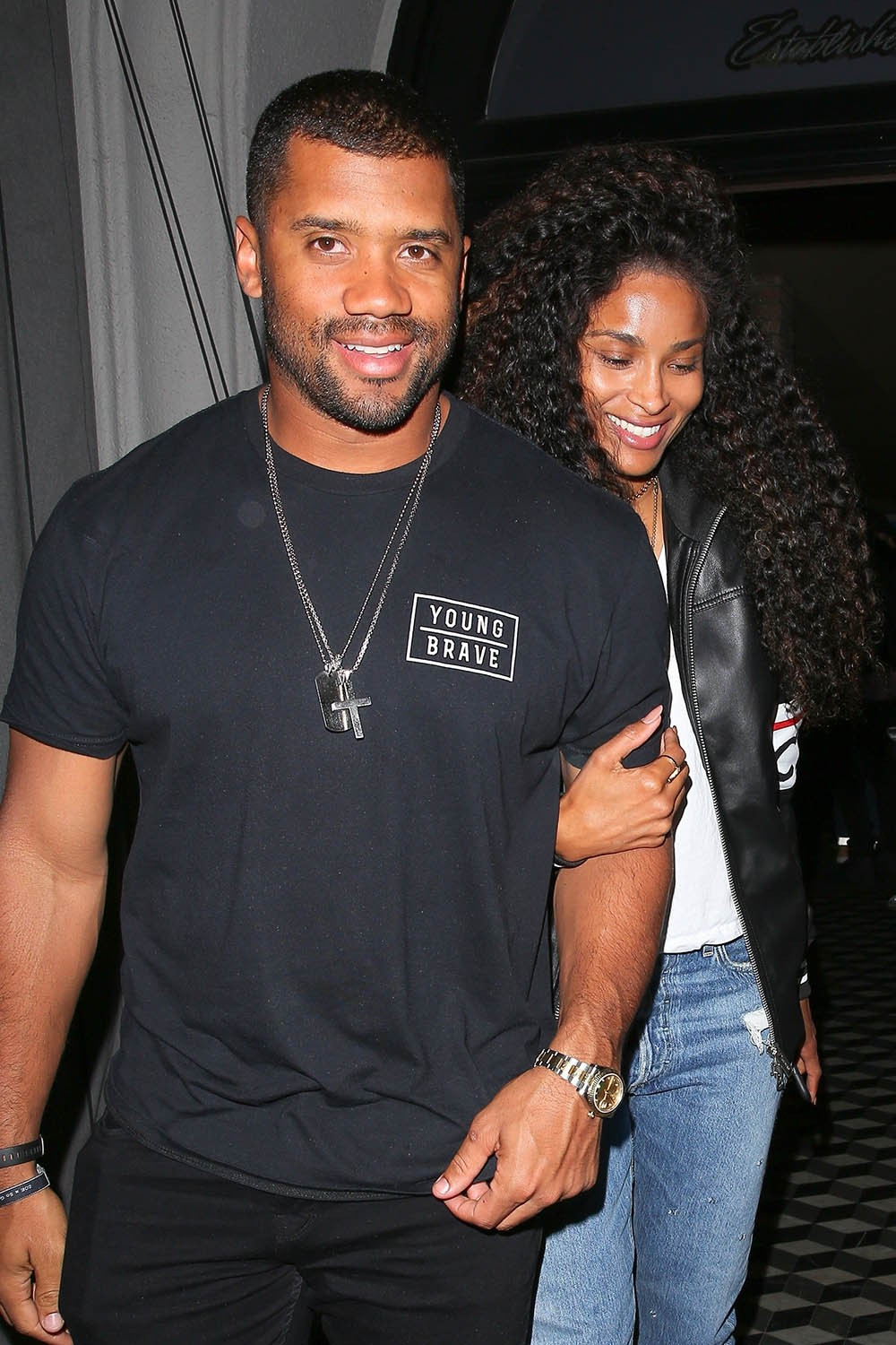 Celebrity Couples: Russell & Ciara, Tristan & Khloe, Kourtney & Younes - See how they stepped out over the weekend (Photos)