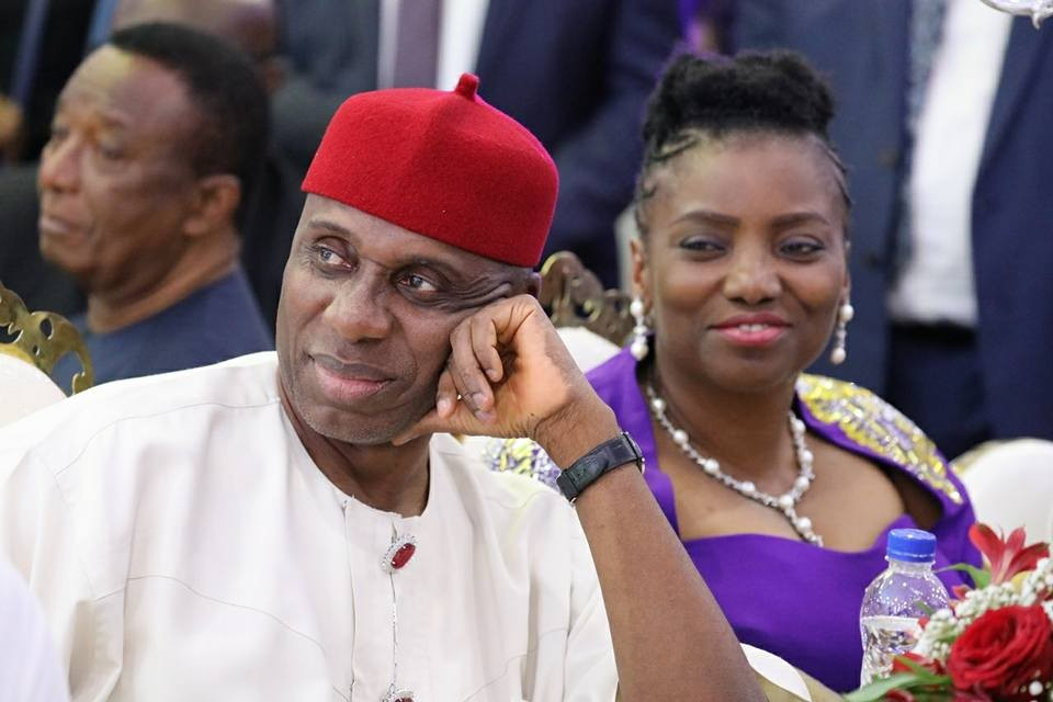 Caption this photo of Rotimi Amaechi...