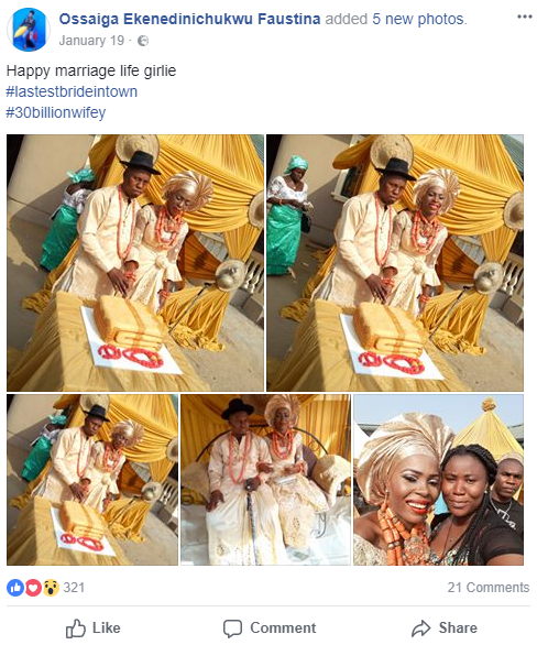 Nigerian couple who got married in January divorce less than two months later
