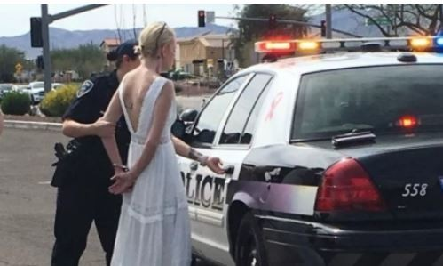 Police arrest bride on wedding day for drunk-driving