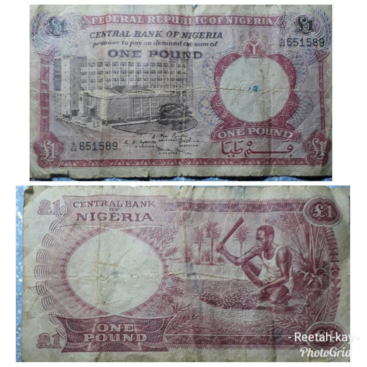 Anonymous person gives Nigeria?s old ?1 note as offering during church service