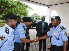 Nigeria Police Force denies reports that Aso Rock police officers staged protest over unpaid allowances since 2015