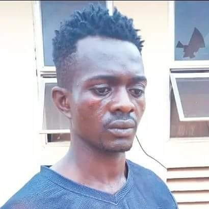 Photo: Man arrested for stabbing his friend to death in Enugu
