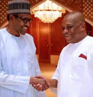 'I can fight corruption better than president Buhari' - Orji Uzor Kalu