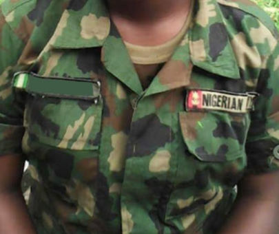 Female soldier shoots mentally deranged woman dead in Abia