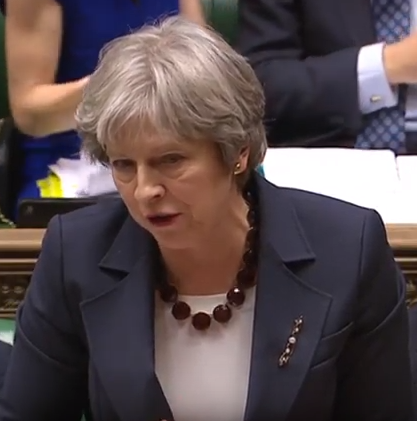 Theresa May announces retaliation against Russia after spy and his daughter were poisoned in England. 23 Russian Diplomats asked to leave Britian