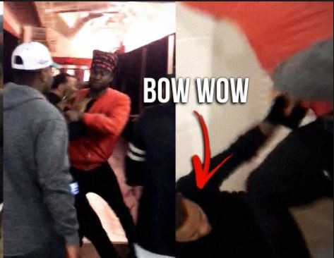 Video of Bow Wow getting knocked out by a Rapper surfaces (Watch)