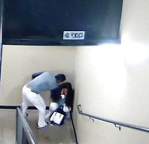 US baseball player, Danry Vasquez is engaged to the girlfriend he was filmed beating mercilessly