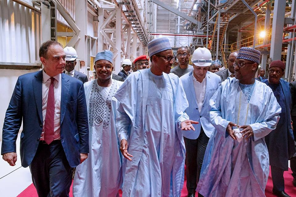 Photos from President Buhari visit to Niger state