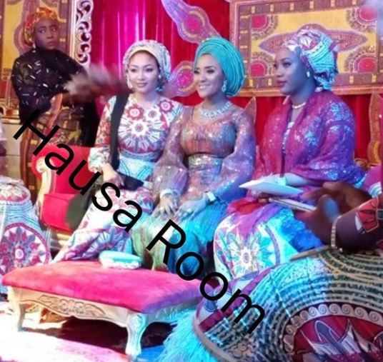 First photos from the Kano wedding of Africa