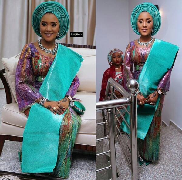 Fatima Dangote looks gorgeous for her Kamu ceremony