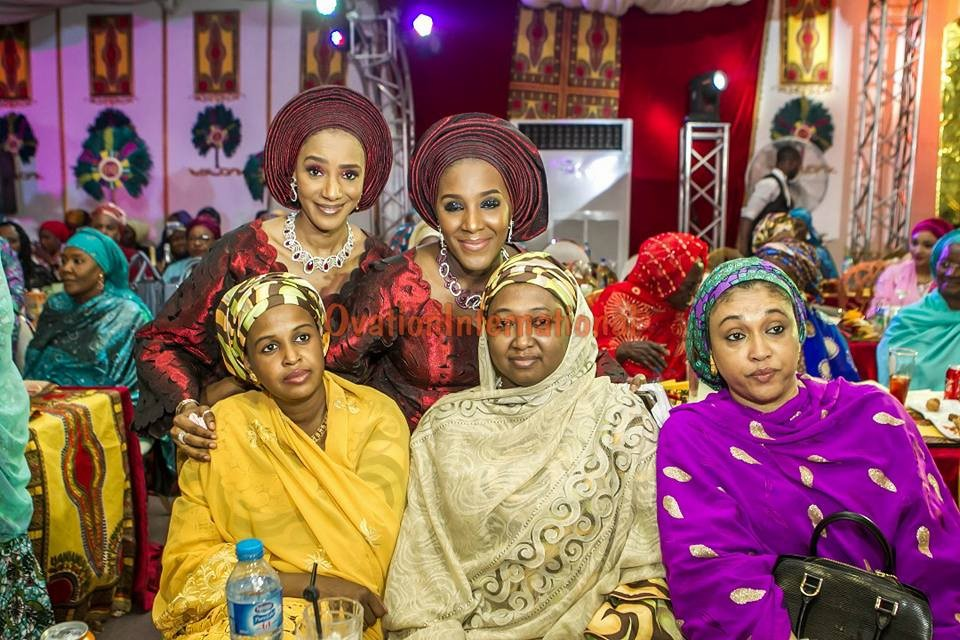 More photos from the Kano wedding of Billionaire daughter, Fatima Aliko Dangote to Jamil Abubakar