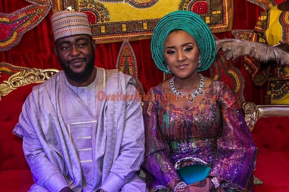 More photos from the Kano wedding of Billionaire daughter, Fatima Aliko Dangote to Jamil Abubakar
