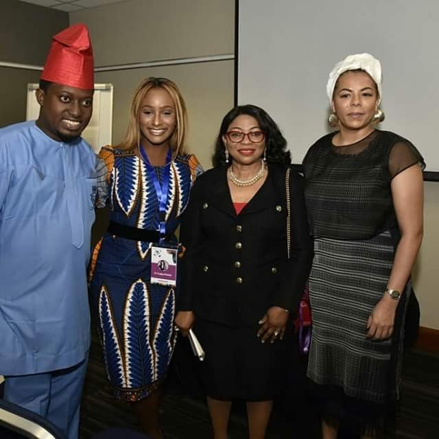 Folorunsho Alakija, DJ Cuppy, Nana Otedola at the just concluded 5th Annual Commonwealth Africa Summit in London