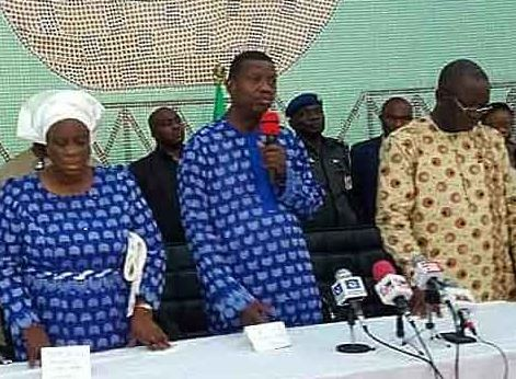 Pastor Adeboye visits Benue State, says???we want these killings to stop?