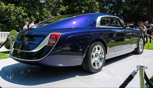 Aww...Sujimoto plans to give his wife the most expensive car ever built, a Rolls Royce Sweptail at a price of nearly $13 million